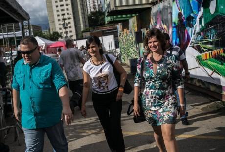 Visita a centros culturais com o Ministro da Cultura - Foto - Rafael Vilela