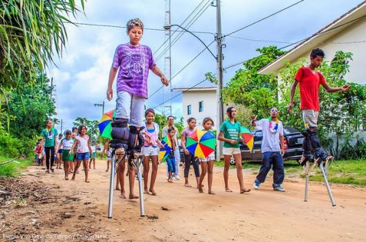 Mestra Doci y la Escola Viva Olho do Tempo: una historia de compromiso
