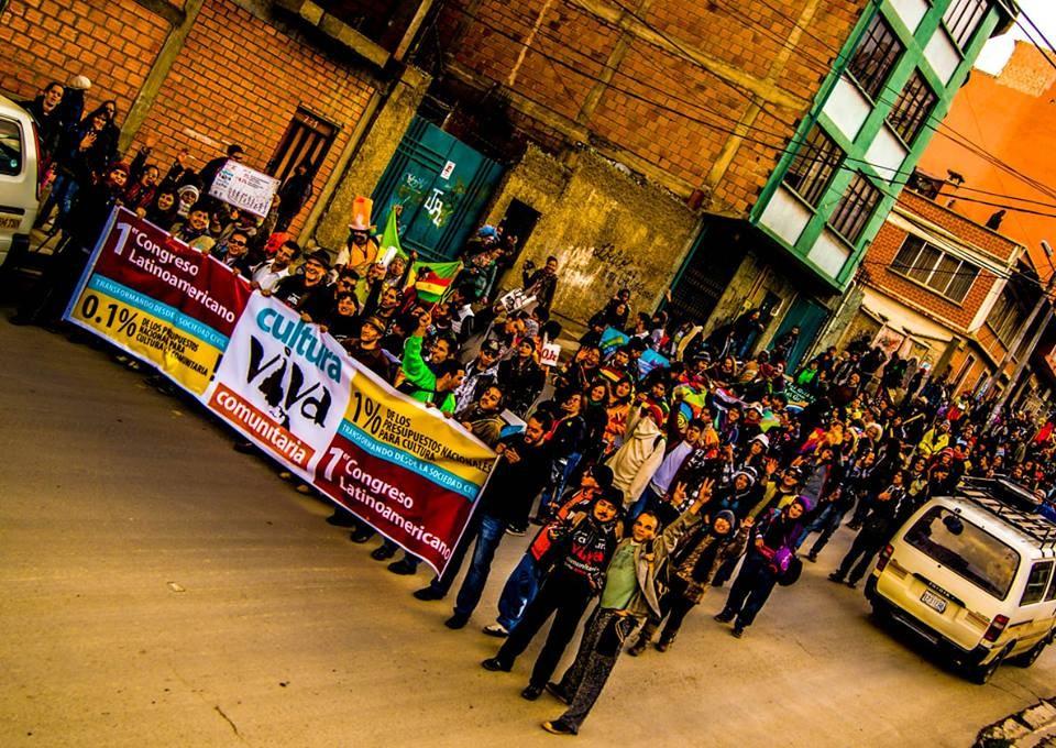 Cerca de 1.200 pessoas foram ao Congresso Latino-americano de Cultura Viva Comunitária na Bolívia, em 2013