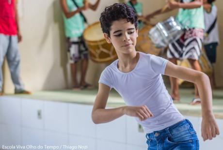 O bailarino Ednaldo Santos, que entrou na Evot aos 6 anos, hoje é aluno da Escola Bolshoi, em Joinville