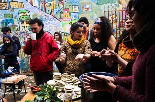 Patio Volantín: um espaço de encontro baseado na troca, na reciclagem e na autogestão