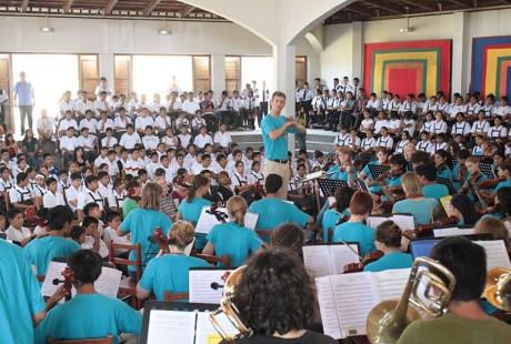 Arpegio: música, solidariedade, inclusão e responsabilidade