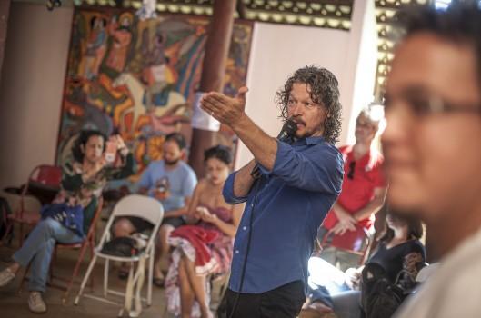 Juliano Basso e  a Casa de Cultura Cavaleiro de Jorge: uma história de encontros
