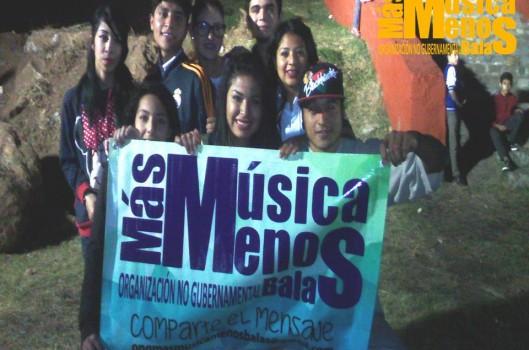 """""""Más Música, Menos Balas"""": das redes sociais às ruas de Guadalajara"""