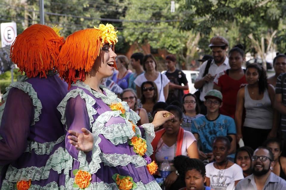 Mostra de Teatro Comunitario do Quilombo do Sopapo (Foto: Leandro Anton)